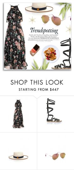 """""""Flute Dress"""" by firstboutique ❤ liked on Polyvore featuring Melissa, Loro Piana, Cutler and Gross, floraldress and flutedress"""