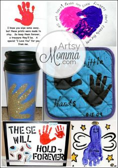 6 Grandparent's Day Ideas: Handprint Crafts #HandprintHolidays