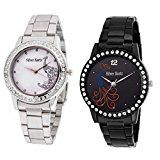 Silver Kartz Swarovski Studded Peacock Affair Analog Watch For Girls & Women pack of combo watchSilver Kartz590% Sales Rank in Watches: 321 (was 2216 yesterday)Buy: Rs. 2099.00 Rs. 395.00 (Visit the Movers & Shakers in Watches list for authoritative information on this product's current rank.)