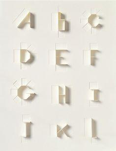 Sonya Dyakova: Paper Alphabet