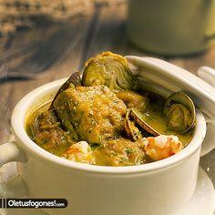 Alcachofas rebozadas en salsa por Siry En casa nos encantan los guisos e intentamos probar todo tipo de ellos. En este caso estas alcachofas rebozadas en salsa son una auténtica pasada, el sabor que dan a la salsa nos encantó y son muy fáciles de preparar, creo que con ver la foto lo decimos todo, [...]