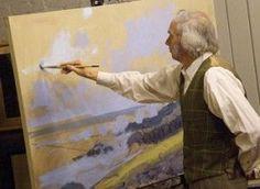 Oil Painting Landscape Tutorial by John P. Osborne
