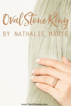 This remarkable piece of jewelry is an over the top luxury gifts for any women in you life made by Nathalie Marie.  This alluring masterpiece is composed of 14K rose gold and rutilated quartz.  Each ring is handcrafted by Nathalie herself in her Sydney workshop, with each unique creation is truly being worth every penny.