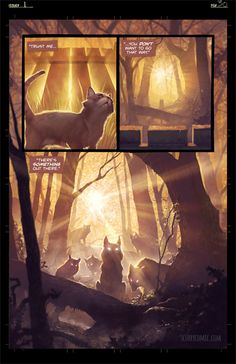 ArtStation - Scurry comic page 32 (and step-by-step gif, Mac Smith