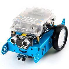 Makeblock DIY mBot 1.1 Kit - STEM Education - Arduino - Scratch 2.0 - Programmable Robot Kit for Kids to Learn Coding, Robotics, Electronics (Bluetooth Version - Family Prefer) ** Find out @