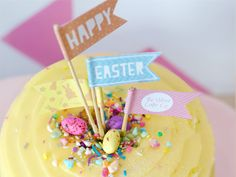 Signature Baby Cheesecake topped with layers of pastel rainbow cake covered in creamy cream cheese frosting baked on a fun and crunch Zoo Cookie base. Cake & Co, Eat Cake, Easter Cheesecake, Cake Cover, Velvet Cake, Cream Cheese Frosting, Happy Easter, Base, Cookies