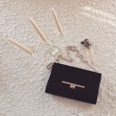luxury clutch! Bobby Pins, Leather Bag, Hair Accessories, Luxury, Bags, Handbags, Hair Pins, Totes, Hand Bags