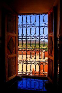 La kasbah de Taourirt, Ouarzazate, ورزازات , La Porte du Désert, Maroc 2008