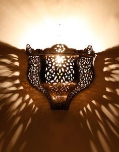 Handmade, antiqued brass, wrought iron and nickel silver Moroccan Wall Lights range. Exotic and known for setting exquisite lighting moods. Moroccan Lighting, Sale Design, Wall Lights, Light, Brass Wall Light, Sconces, Lighting, Moroccan, Ceiling Lights