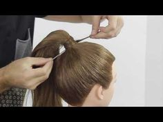 Ponytail without rubber band and without pin! Farrukh Shamuratov - YouTube