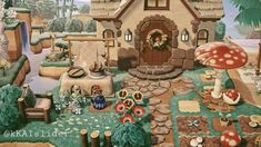 Animal Crossing Guide, Animal Crossing Villagers, Animal Crossing Qr Codes Clothes, Animal Games, My Animal, Film Manga, Motif Acnl, Ac New Leaf, Exterior