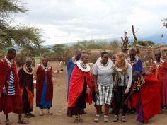 Colleta (manager y guía de Udare Safari). Mayo 2015