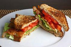 South Louisiana Cuisine: Bacon, Lettuce and Tomato Sandwiches