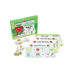 Rhyming Words Bingo! Beat the Frog