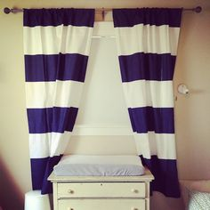 Big Bold Stripes | Nautical bedroom, Bald hairstyles and Window ...