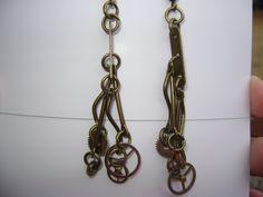 Boho Steampunk Earrings