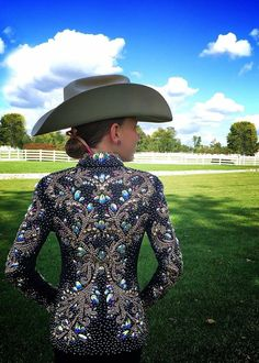 KLS Designs Show Clothing Custom Western Showmanship Jacket Rodeo Outfits, Equestrian Outfits, Western Outfits, Western Wear, Western Show Shirts, Western Show Clothes, Horse Riding Clothes, Horse Show Clothes, Westerns