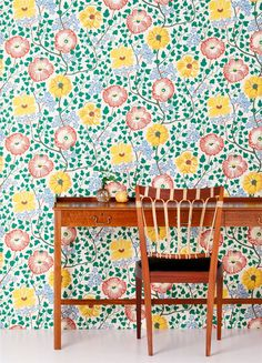 Josef Frank...I like the overall affect from a distance better than the individual motifs. k@