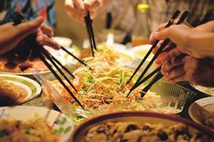 Prepare for the Year of the Wooden Sheep with traditional Chinese New Year food: Yusheng (Yee Sang or Yuu Sahng)