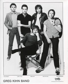 The Greg Kihn Band Press Kit Photo https://www.facebook.com/FromTheWaybackMachine