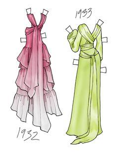 (⑅ ॣ•͈ᴗ•͈ ॣ)♡                                                             ✄paper dolls | final fashion » paper dolls