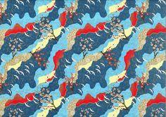 Papier japonais oiseaux en vol et fleurs Disponible dans l'un de nos 31 magasins L'Éclat de Verre ou sur http://shop.eclatdeverre.com/PAPIER_JAPONAIS_VOL_D_OISEAUX_BLEU-P4582 #eclatdeverre #papierjaponais #papier #japonais #oiseaux #fleurs