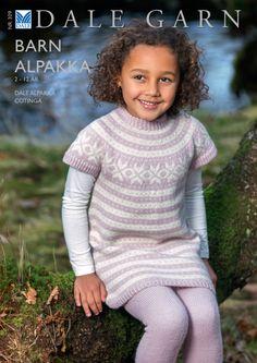 30901 Tunika pattern by Dale Design Knitting Books, Knitting For Kids, Baby Knitting, Knitted Baby, Arm Warmers, Knitting Patterns, Baby Kids, Fashion Dresses, Sweaters