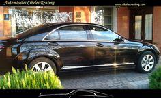 Alquiler de Mercedes con #conductor en #Madrid