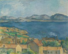 X Paul Cézanne French, 1839-1906 The Bay of Marseilles, Seen from L'Estaque, c. 1885