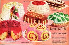 Desserts You'll Do Again And Again! I'll Take The Pickled Slug Pie On The Right!