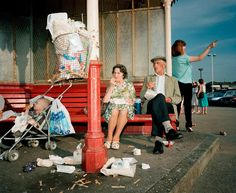 GB. England. New Brighton. 1985. Martin Parr