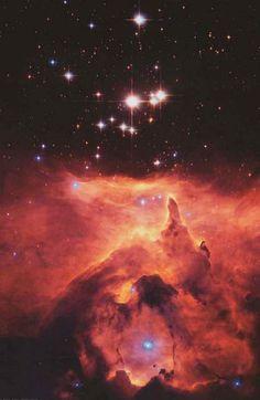 War and Peace Nebula NGC 6357 NASA Hubble Image Poster 24x36