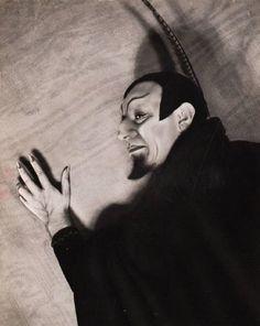 The Bulgarian opera singer Raffaele Arié (1920-88) as Mephistoles in Gounod's 'Faust'