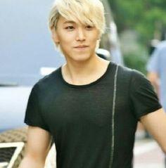 Blond Sungmin!! :3