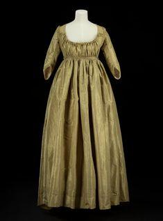 Dress, woman's Baroque, Rococo, Regency Dress, Regency Era, 20th Century Fashion, Edwardian Dress, Nursing Dress, Historical Clothing, Antique Clothing