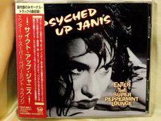 CD/Japan- PSYCHED UP JANIS Enter Super Peppermint +4 bonus trx w/OBI RARE *PROMO #AlternativeRockPunkRockGrunge