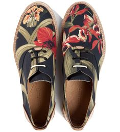 1a86e70381 The Best Men s Shoes And Footwear   Thorocraft Floral Hampton Shoe
