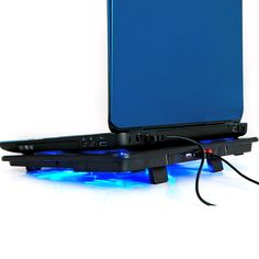 """High Quality laptop cooler 17 inch 5 fans 2 USB Laptop Cooling Pad/ Notebook Stand Cooler silence LED fits 14- 17"""""""