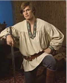 Renaissance Shirt Medieval Pirate Gypsy by LunaFioreCostumes