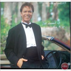 Cliff Richard pin up poster 21 in a dinner suit