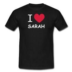 saint valentin, j'aime sarah, tee shirt i love sarah, tee shirt j'aime sarah, i love, i love sarah, tee shirt je t'aime sarah, je t'aime sarah, anniversaire sarah, amour sarah