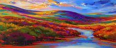 Image result for psychedelic landscape