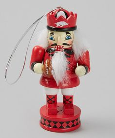 Take a look at this Arkansas Nutcracker Ornament by Turnovers, Inc. on #zulily today!