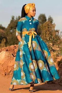 African Fashion Ankara, African Inspired Fashion, African Print Fashion, Africa Fashion, Long African Dresses, African Wedding Dress, African Print Dresses, African Attire, African Wear