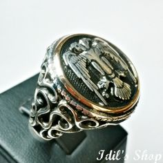 Authentic Turkish Ottoman Style Handmade 925 Sterling by IdilsShop, $110.00