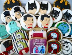Tim Burton Cookies! By Oh Sugar Events