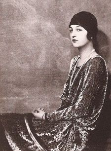 "Alice Astor, Vincent's younger sister in the mid-1920s. Brother and sister often fought and when they did ""people cleared the room."" When advised that she should be more forgiving of her brother, that blood was thicker than water, Alice retorted, ""Vincent has cut off my water."""