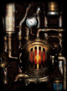 Old Machine by IllustratorG