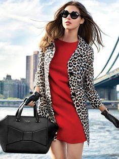 kate spade fall 2013 leopard jacket