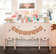 Cute candy buffet